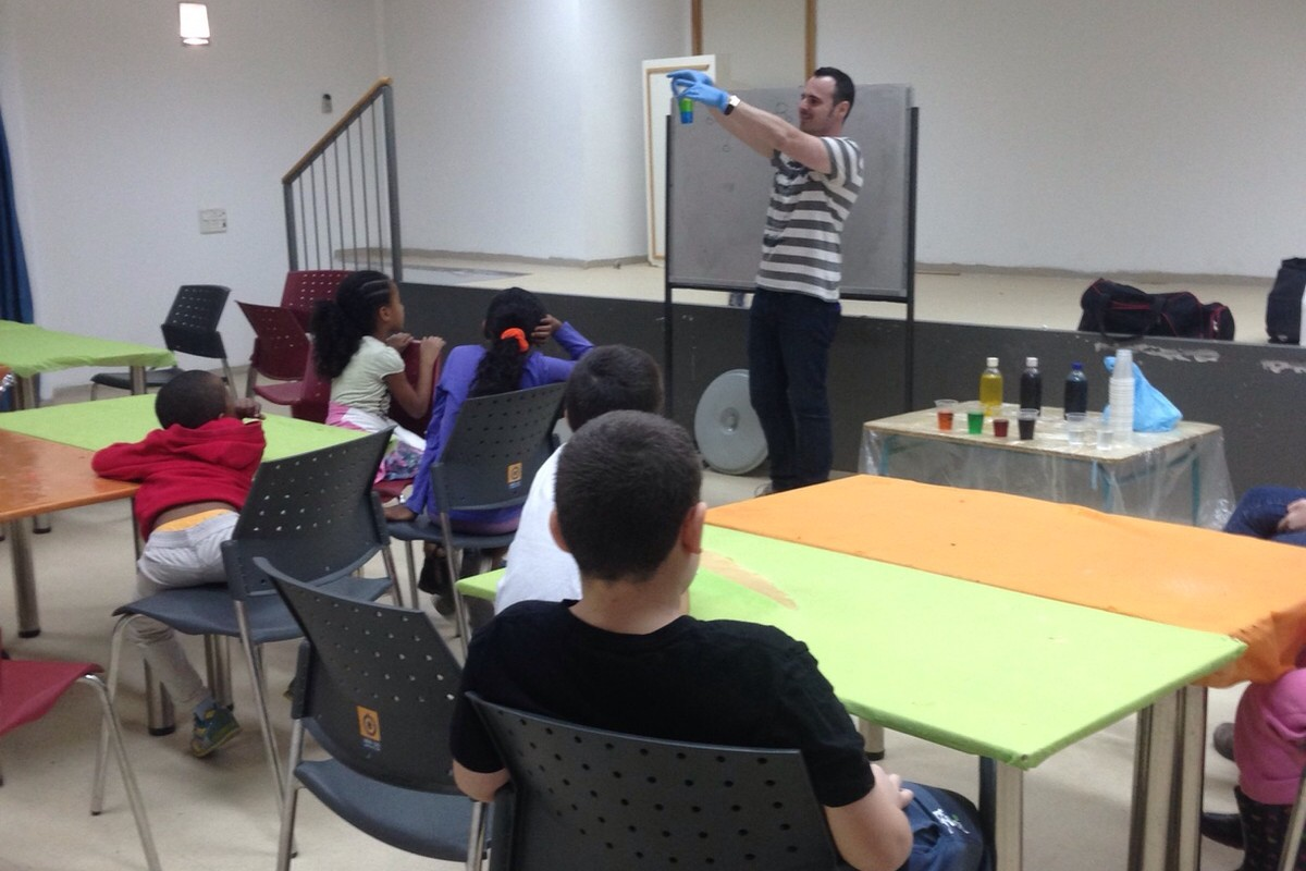 An Enrichment Center Opens In Lod