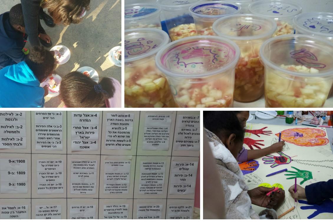 Tu Bishvat in Yad Rachel Afterschool Centers