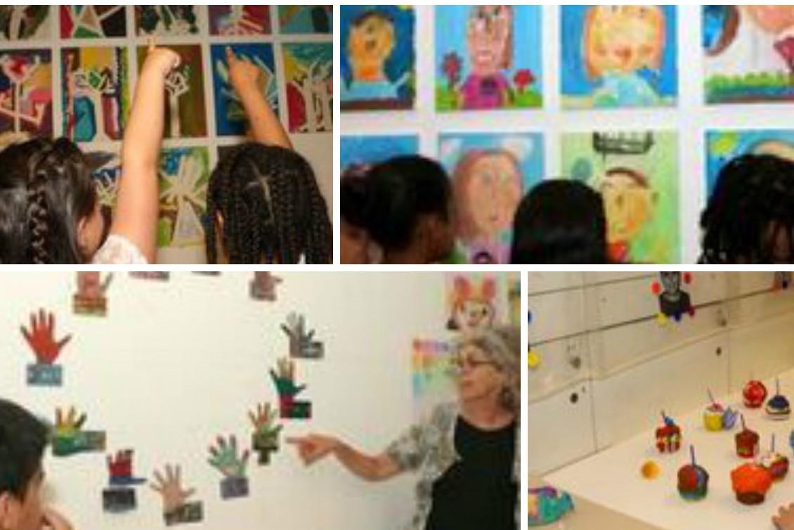 Paz After School Center Exhibition In Israeli Museum