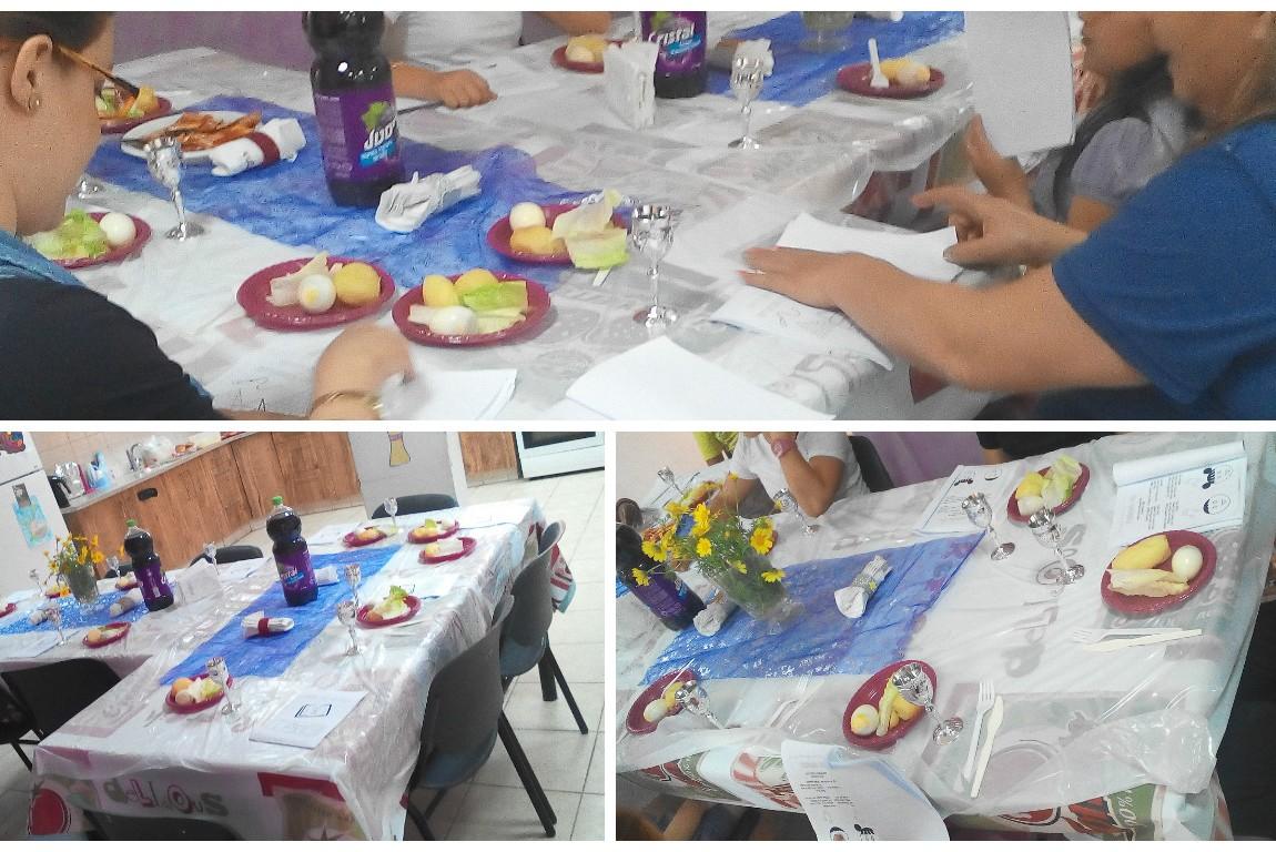 Celebrating Passover in Mavkiim Center
