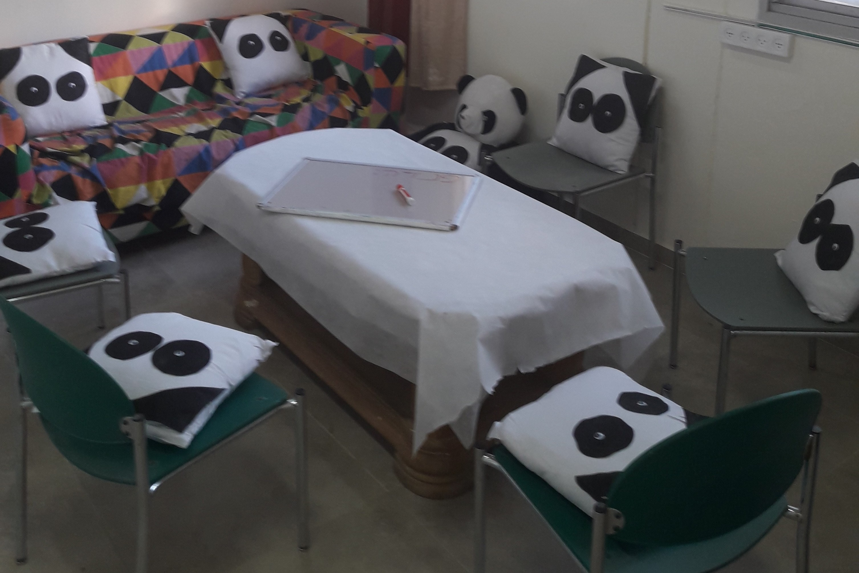 The first PANDA group in Bat Yam: learning how to cope with crisises