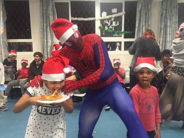 And even The Spiderman dropped by